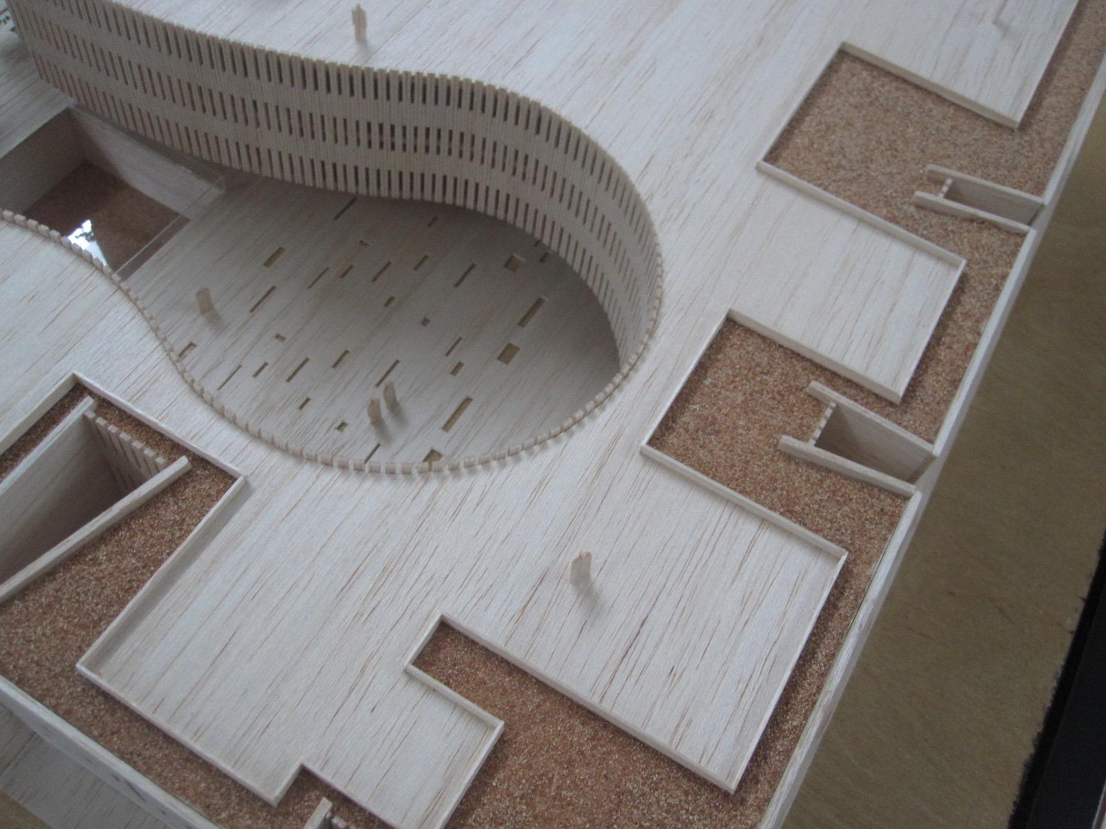 Vista aérea del Palacio de la Música